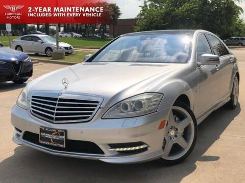 2011 Mercedes-Benz S-Class for sale at European Motors Inc in Plano TX