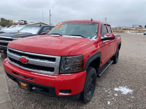 2010 Chevrolet Silverado 1500 for sale at Top Line Auto Sales in Idaho Falls ID