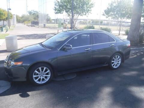2006 Acura TSX for sale at J & E Auto Sales in Phoenix AZ