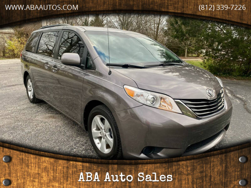 2012 Toyota Sienna for sale at ABA Auto Sales in Bloomington IN