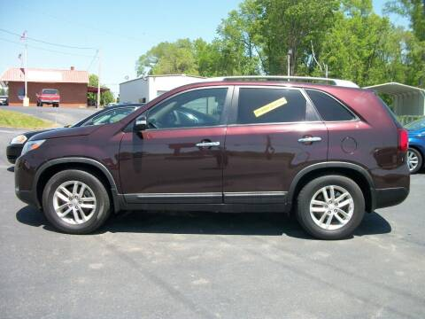 2015 Kia Sorento for sale at Lentz's Auto Sales in Albemarle NC