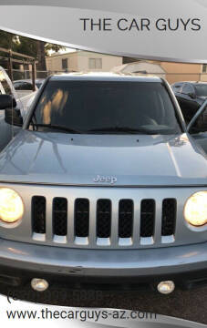 2013 Jeep Patriot for sale at The Car Guys in Tucson AZ