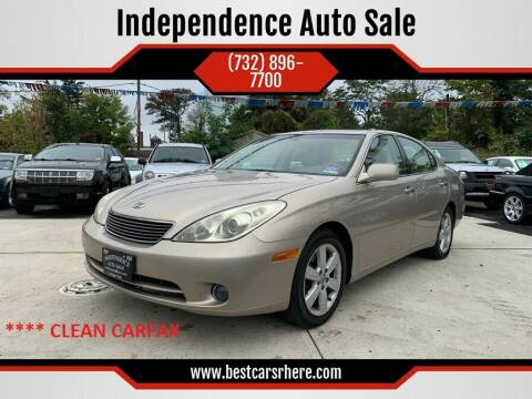 2005 Lexus ES 330 for sale at Independence Auto Sale in Bordentown NJ
