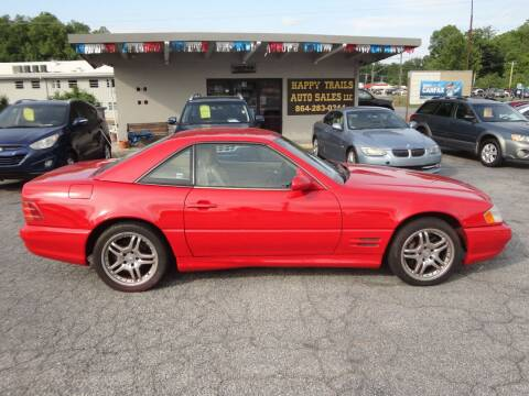 2000 Mercedes-Benz SL-Class for sale at HAPPY TRAILS AUTO SALES LLC in Taylors SC