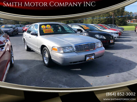 2000 Ford Crown Victoria for sale at Smith Motor Company INC in Mc Cormick SC