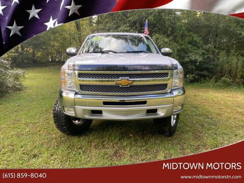 2013 Chevrolet Silverado 1500 for sale at Midtown Motors in Greenbrier TN