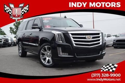 2016 Cadillac Escalade ESV for sale at Indy Motors Inc in Indianapolis IN