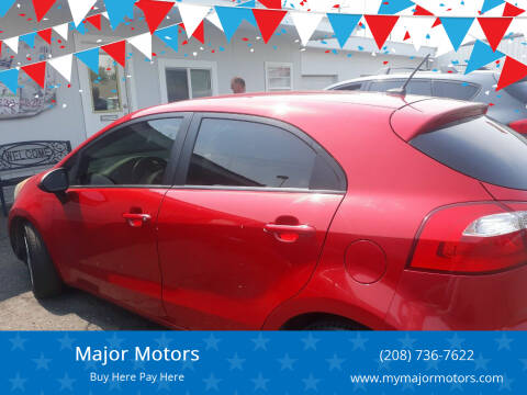2013 Kia Rio 5-Door for sale at Major Motors in Twin Falls ID