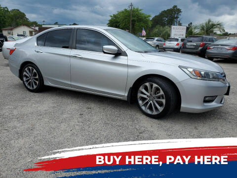 2014 Honda Accord for sale at Rodgers Enterprises in North Charleston SC