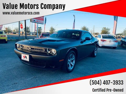 2019 Dodge Challenger for sale at Value Motors Company in Marrero LA