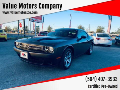 2019 Dodge Challenger for sale at Value Motors Company in Marrero LA