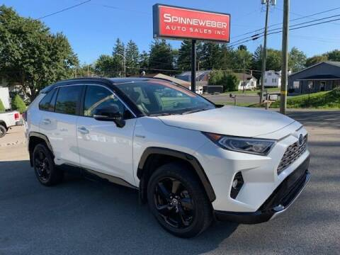 2019 Toyota RAV4 Hybrid for sale at SPINNEWEBER AUTO SALES INC in Butler PA