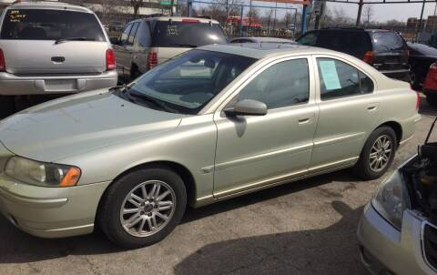 2005 Volvo S60 for sale at HW Used Car Sales LTD in Chicago IL