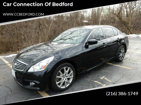 2013 Infiniti G37 Sedan for sale at Car Connection of Bedford in Bedford OH