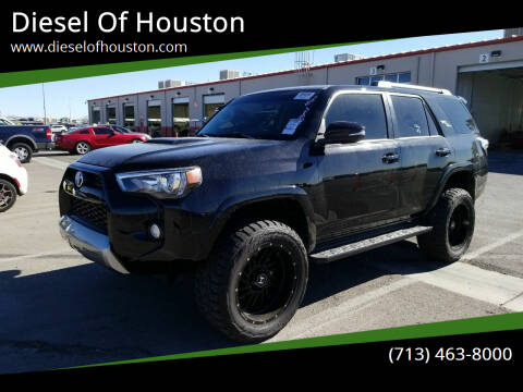2018 Toyota 4Runner for sale at Diesel Of Houston in Houston TX