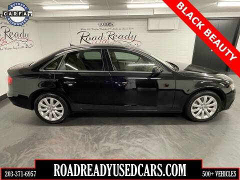 2012 Audi A4 for sale at Road Ready Used Cars in Ansonia CT