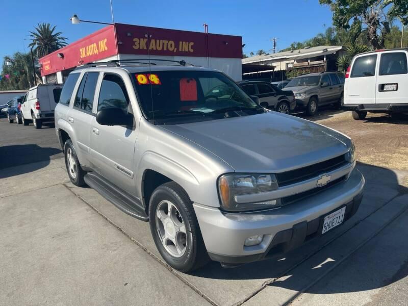 2004 Chevrolet TrailBlazer for sale at 3K Auto in Escondido CA
