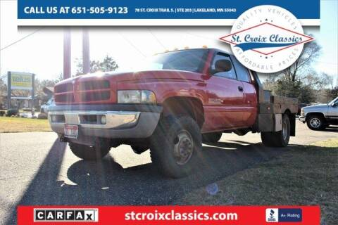 1999 Dodge Ram Pickup 3500 for sale at St. Croix Classics in Lakeland MN