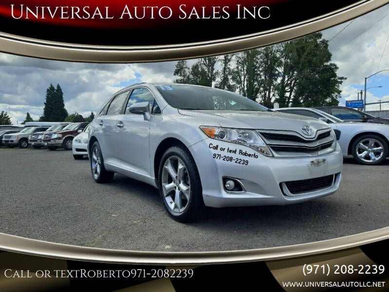 2013 Toyota Venza for sale in Salem, OR