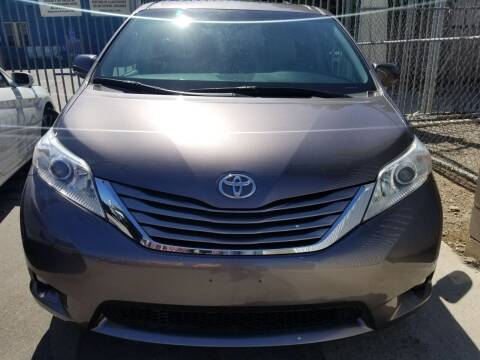 2015 Toyota Sienna for sale at Ournextcar/Ramirez Auto Sales in Downey CA