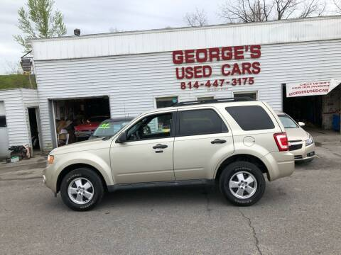 2011 Ford Escape for sale at George's Used Cars Inc in Orbisonia PA