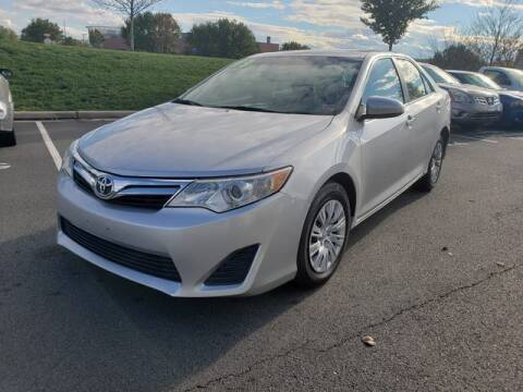 2013 Toyota Camry for sale at SOUTH AMERICA MOTORS in Sterling VA