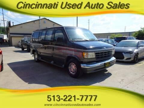 1996 Ford E-Series Cargo for sale at Cincinnati Used Auto Sales in Cincinnati OH