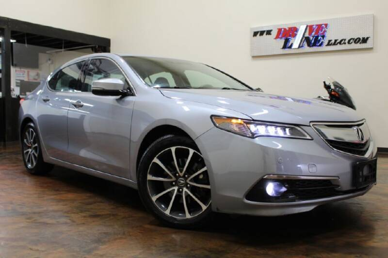 2015 Acura TLX for sale at Driveline LLC in Jacksonville FL