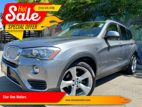 2015 BMW X3 for sale at Star One Motors in Hayward CA