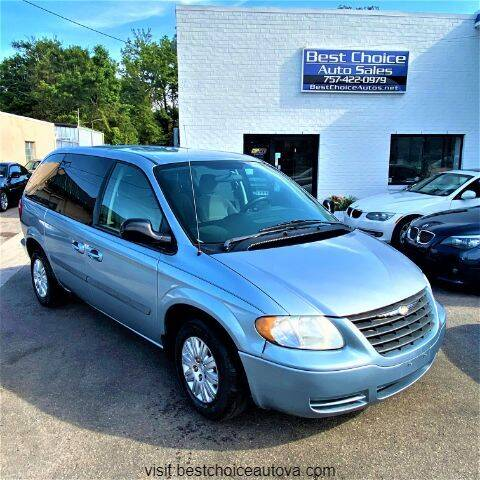 2006 Chrysler Town and Country for sale at Best Choice Auto Sales in Virginia Beach VA