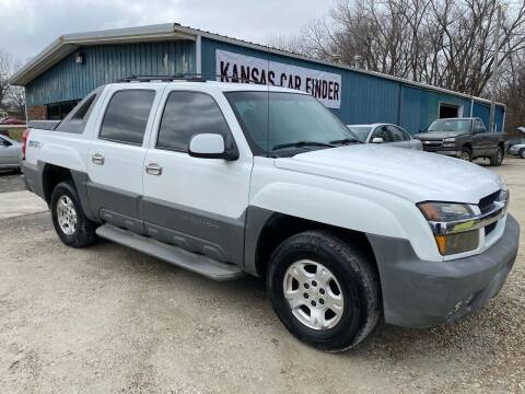 2002 Chevrolet Avalanche for sale at Kansas Car Finder in Valley Falls KS