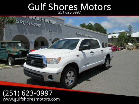 2012 Toyota Tundra for sale at Gulf Shores Motors in Gulf Shores AL