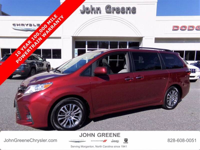 2019 Toyota Sienna for sale at John Greene Chrysler Dodge Jeep Ram in Morganton NC
