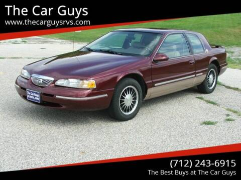 1997 Mercury Cougar for sale at The Car Guys in Atlantic IA