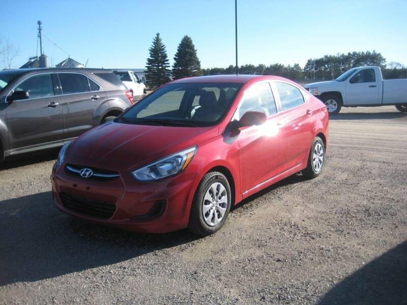 2017 Hyundai Accent for sale at Rice Auto Sales in Rice MN