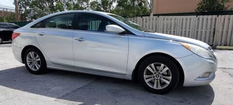 2013 Hyundai Sonata for sale at POLLO AUTO SOLUTIONS in Miami FL