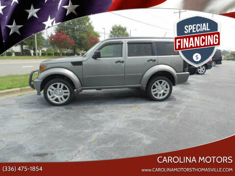 2011 Dodge Nitro for sale at CAROLINA MOTORS in Thomasville NC