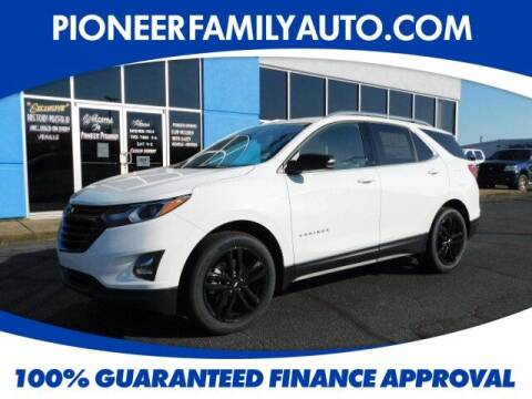 2020 Chevrolet Equinox for sale at Pioneer Family auto in Marietta OH