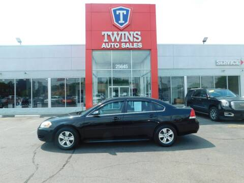 2013 Chevrolet Impala for sale at Twins Auto Sales Inc Redford 1 in Redford MI