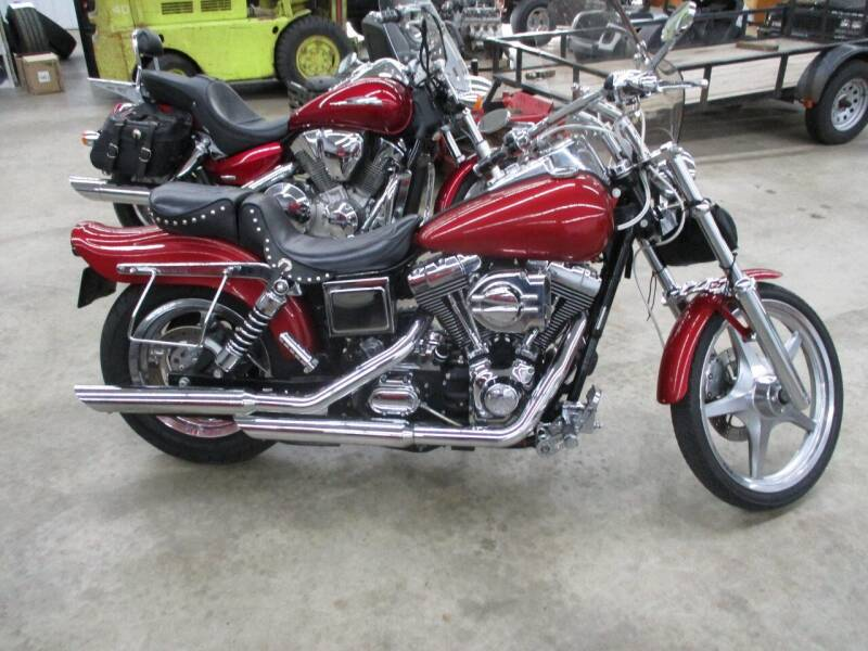 2005 Harley-Davidson dyna wide glide for sale at Midstate Sales in Foley MN