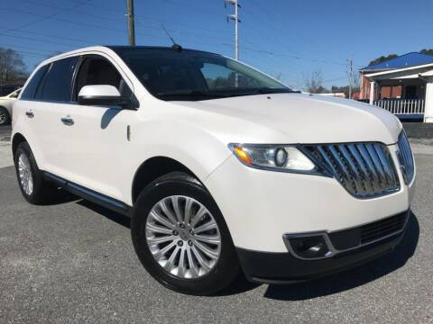 2012 Lincoln MKX for sale at Town Square Motors in Lawrenceville GA