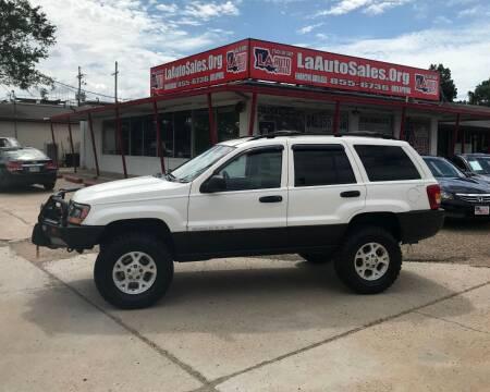 1999 Jeep Grand Cherokee for sale at LA Auto Sales in Monroe LA