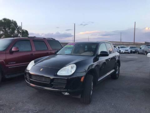 2005 Porsche Cayenne for sale at BELOW BOOK AUTO SALES in Idaho Falls ID