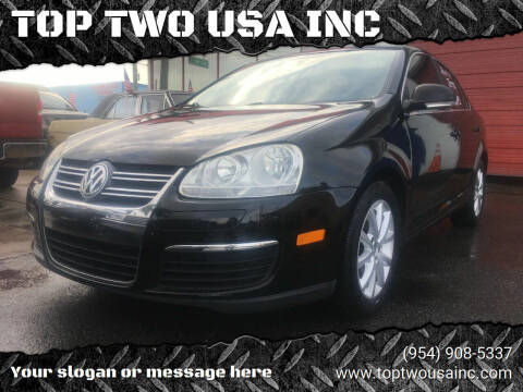 2010 Volkswagen Jetta for sale at TOP TWO USA INC in Oakland Park FL