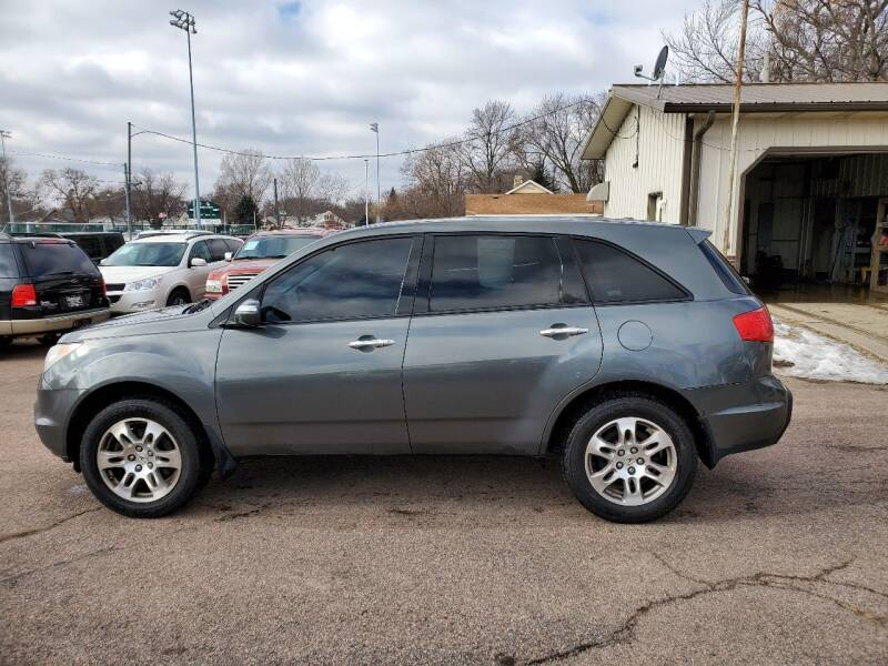2007 Acura MDX for sale at RIVERSIDE AUTO SALES in Sioux City IA