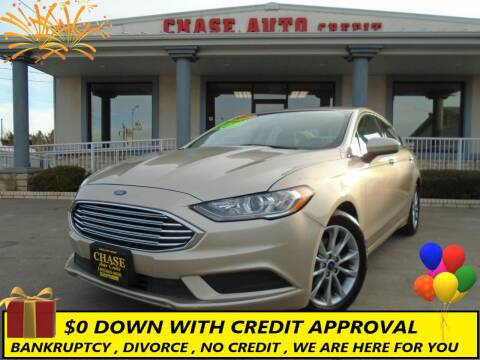 2017 Ford Fusion for sale at Chase Auto Credit in Oklahoma City OK