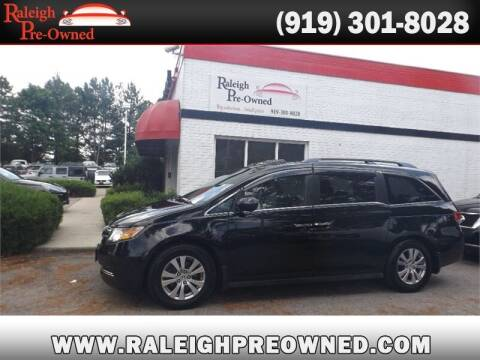 2014 Honda Odyssey for sale at Raleigh Pre-Owned in Raleigh NC