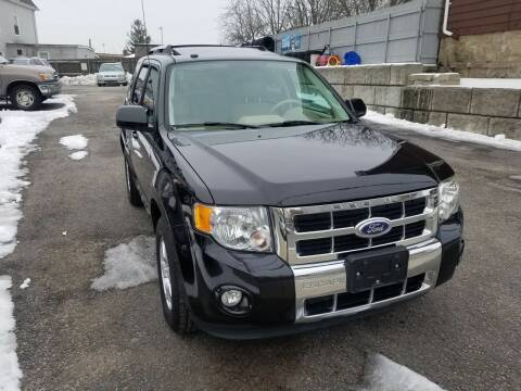 2011 Ford Escape for sale at Fortier's Auto Sales & Svc in Fall River MA