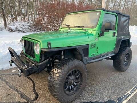 2005 Jeep Wrangler for sale at Padula Auto Sales in Braintree MA