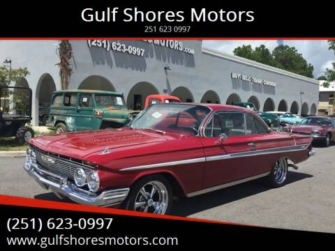 1961 Chevrolet Bel Air for sale at Gulf Shores Motors in Gulf Shores AL